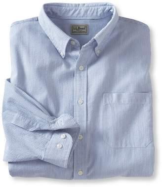 L.L. Bean L.L.Bean Seersucker Shirt, Traditional Fit Stripe