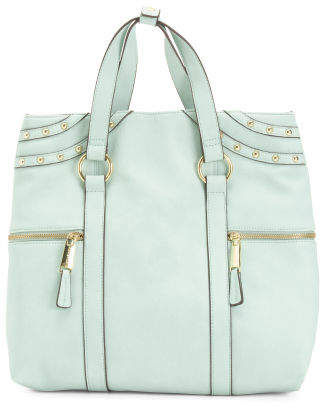 Large Convertible Backpack With Side Pockets