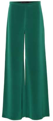 Max Mara Affetto silk trousers