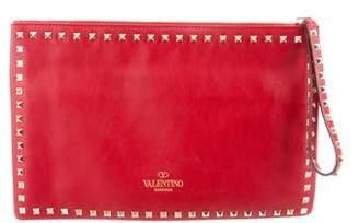 Valentino Rockstud Flat Pouch