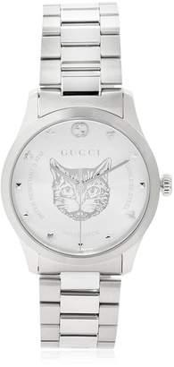 Gucci G-Timeless Feline Head Watch
