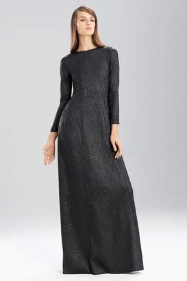 Josie Natori Embossed Texture Dress