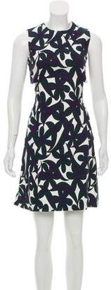 Marni Linen-Blend Knee-Length Dress