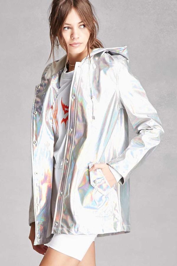 Forever 21FOREVER 21+ Pixie & Diamond Hooded Jacket
