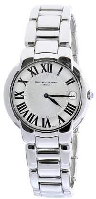 Raymond Weil Women's 5235-St-00659 Jasmine Stainless Steel Bracelet Dial Date Watch