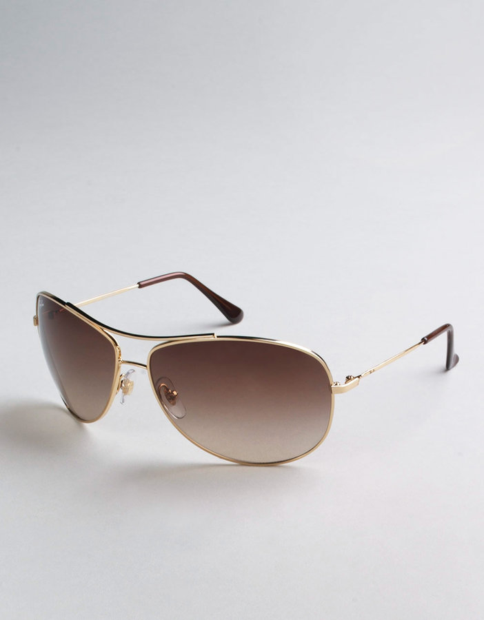 RAY-BAN Bubble Aviator Sunglasses