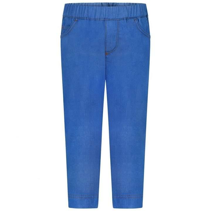 MonclerBaby Boys Blue Denim Trousers