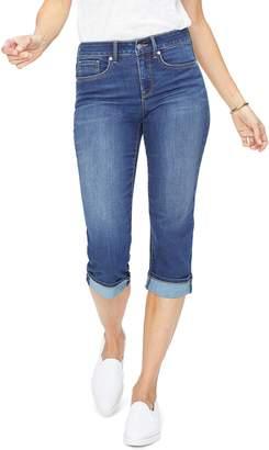 NYDJ Marilyn Straight Leg Capri Jeans