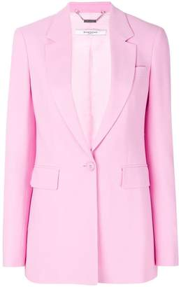 Givenchy classic notched lapel blazer