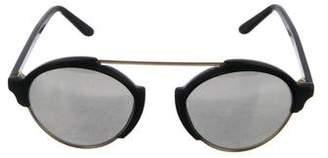 Illesteva Tinted Round Sunglasses