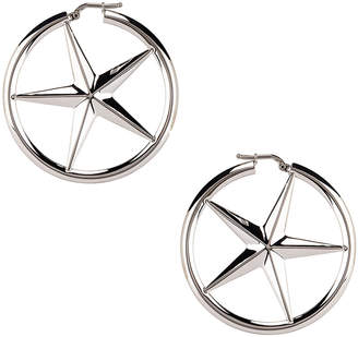 Alexander Wang AWG Hoop Earrings