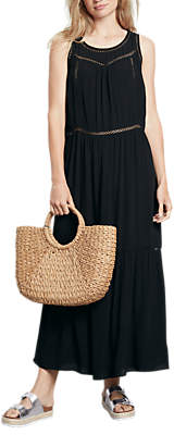 Hush Dana Maxi Dress, Black