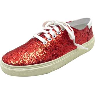 6474d6d96217 Red Leather Trainers - ShopStyle UK