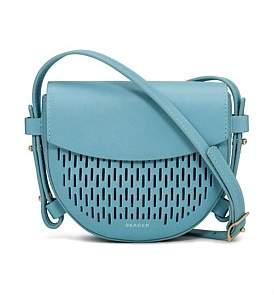 Skagen Lobelle Mini Saddle Bag Crossbody Leather