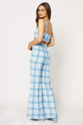Flynn Skye Ride/die Checker Pant