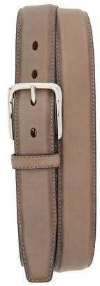 Cole Haan Feather Edge Leather Belt