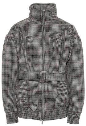 Miu Miu Houndstooth wool jacket