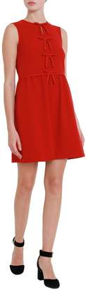 RED Valentino Short Sleeveless Dress With Bows