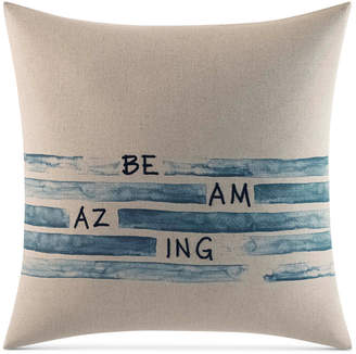 ED Ellen Degeneres Be Amazing Square Decorative Pillow Bedding