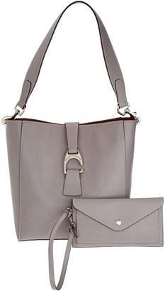 Dooney & Bourke Saffiano Leather Shoulder Bag - Ashby