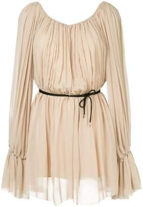 Thierry Mugler Georgette dress