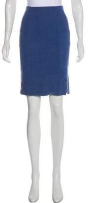 Acne Studios Knee-Length Denim Skirt