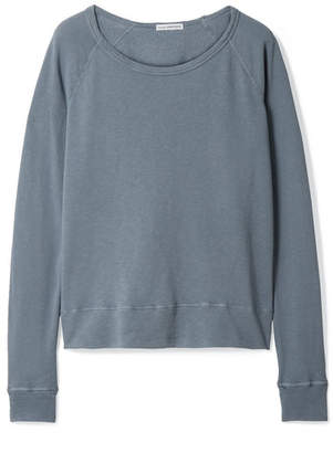James Perse Vintage Supima Cotton-terry Top - Gray