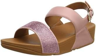 d3c704a69 FitFlop Women s Ritzy Back-Strap Sandals Open Toe (Black)