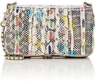 Jerome Dreyfuss Women's Bobi Small Snakeskin & Leather Shoulder Bag