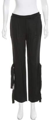 CNC Costume National Mid-Rise Straight-Leg Pants w/ Tags