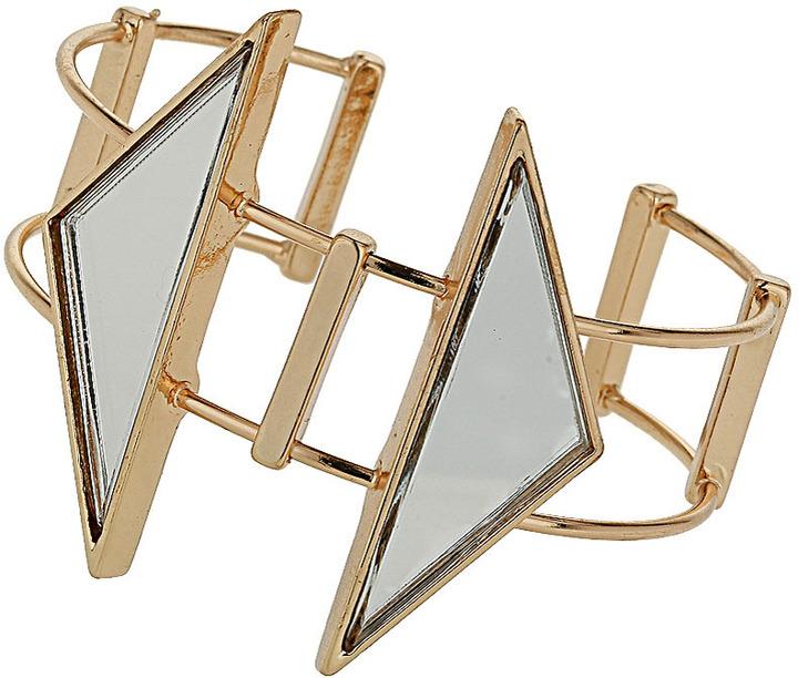 Topshop Mirror Arrow Cuff