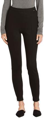 St. John Denim Ponte Pull On Cropped Legging