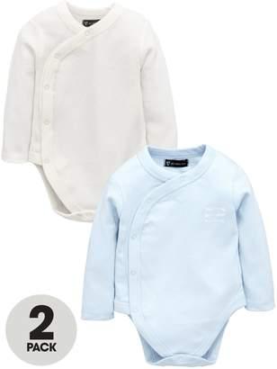 Mini V by Very Baby Boys 2 Pack Bodysuit