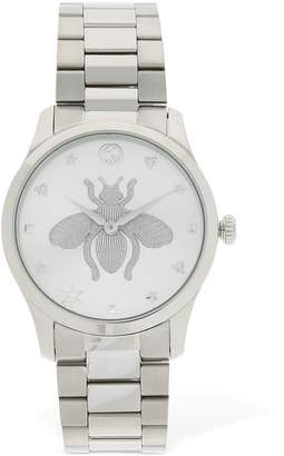 Gucci G Timeless Tone On Tone Bee Watch