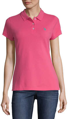 U.S. Polo Assn. USPA Short Sleeve Knit Polo Shirt - Juniors