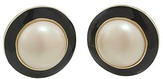 Carolee Circle Clip-On Earrings