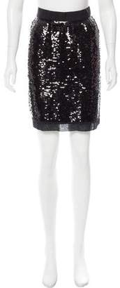 Dolce & Gabbana Sequin Knee-Length Skirt w/ Tags