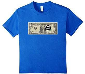 DAY Birger et Mikkelsen Pay Dollar Bill T-Shirt - Cash Make Money Hipster Urban