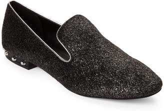 Marc Fisher Pewter Abree Studded Loafers