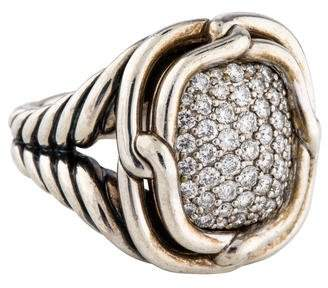 David Yurman Diamond Labyrinth Ring