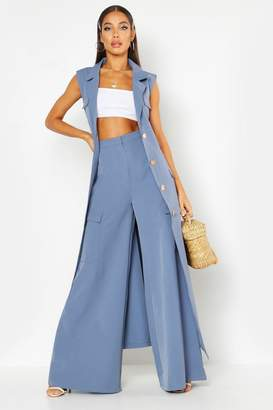 boohoo Woven Extreme Wide Pocket Trouser