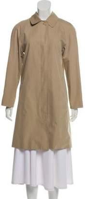 Burberry Peter Pan Collar Trench Coat