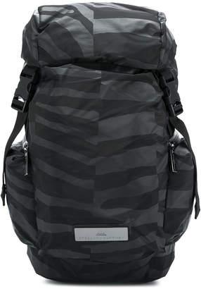 adidas by Stella McCartney uneven stripe bucket backpack
