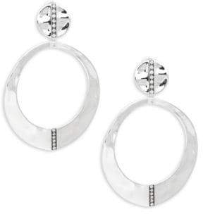 Ippolita Senso Sterling Silver & Diamond Snowman Drop Earrings