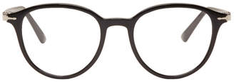 Persol Black Officina Round Glasses