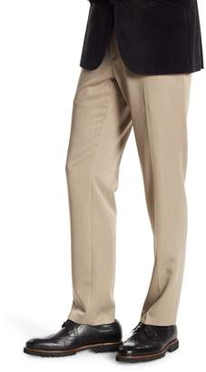 Kenneth Cole Reaction Urban Heather Slim-Fit Flat Front Dress Pants - 29-34 Inseam