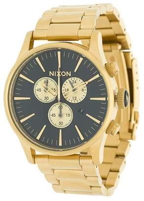 Nixon classy black sunray watch