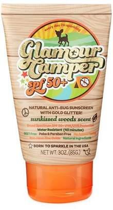 Camper Sunshine & Glitter Glamour SPF 50+ Anti-Bug Sunscreen with Glitter