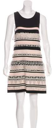 Chanel Striped Cashmere Dress