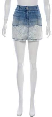 Chanel Denim Mini Skirt